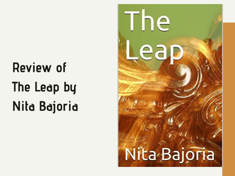 Review of the book The Leap by Nita Bajoria