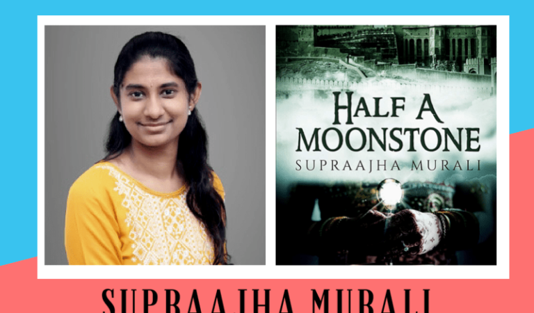 Author interview of Supraajha Murali