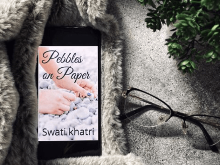 Booxoul book review of Pebbles on Paper by Swati Khatri