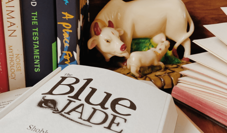 Book review of The Jade Blue by Shobha Nihalani