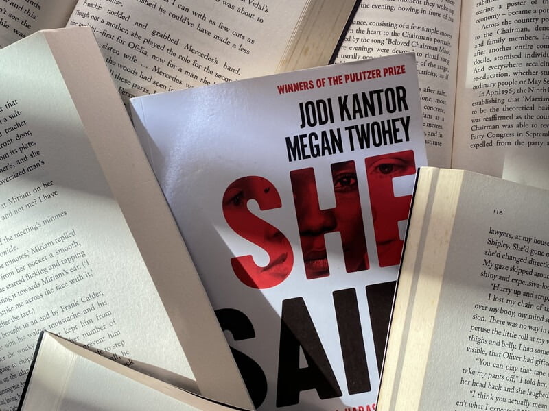 Book review of She Said by Jodi Kantor and Megan Twohey⁣