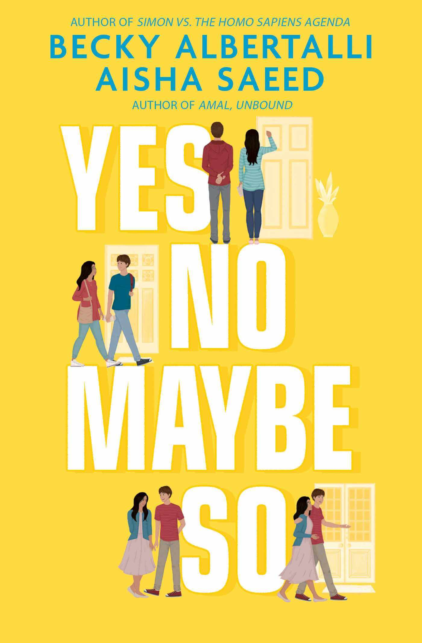 Book review of es No Maybe So by Becky Albertalli and Aisha Saeed