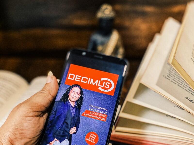 Book review of Decimus- Ten Essential Life Skills of Successful Entrepreneurs by Rakhi Kapoor