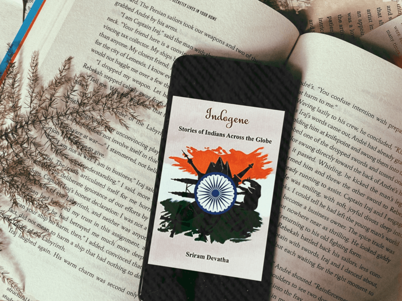 Book review of Indogene- Stories of Indians Across the Globe by Sriram Devatha