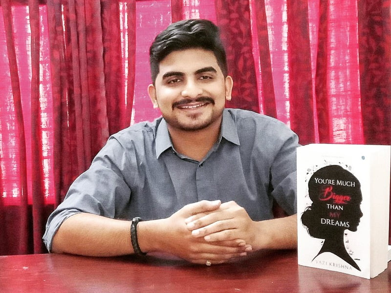 Interview with Yazi Krishna – Author of You're Much Bigger than my Dreams