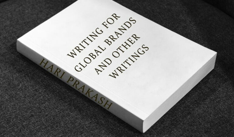 Writing for Global Brands and Other Writings | A Hari Prakash |Book review