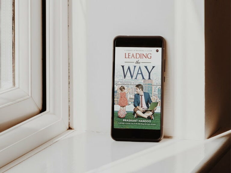 A Book review of Leading The Way by Prashant Handoo