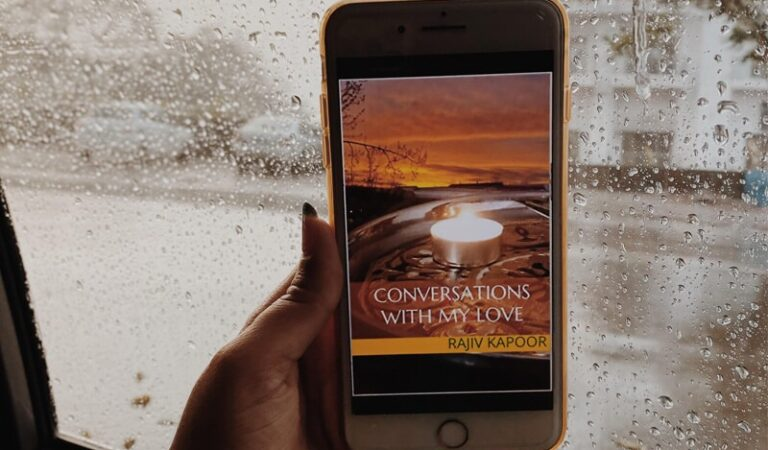 Book Review: Conversations With My Love | Rajiv Kapoor⁣