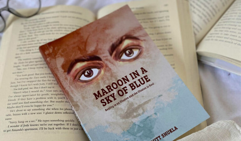 Book review | Maroon In A Sky Of Blue | Girish Dutt Shukla