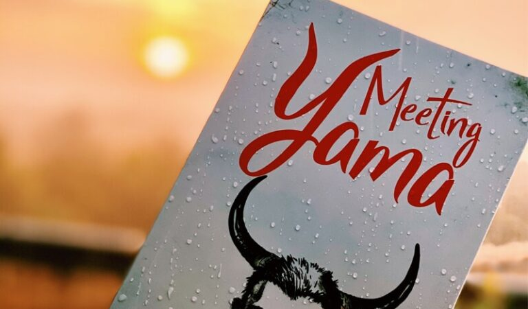 Book review | Meeting Yama | Manoj V Jain