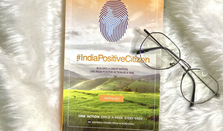 Book review of India Positive Citizen by Savitha Rao