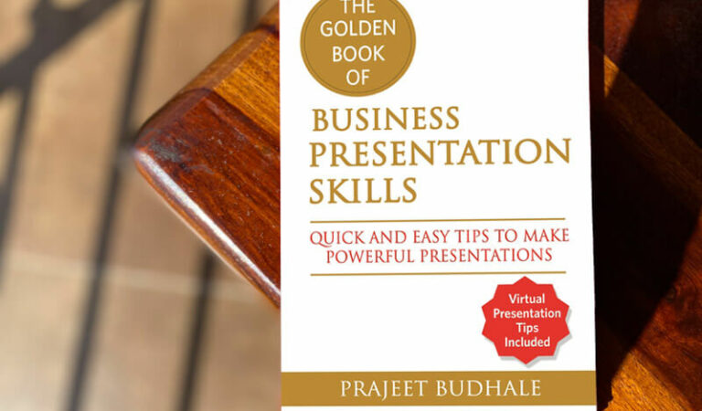 Book review of The Golden Book of Business Presentation by Prajeet Budhale