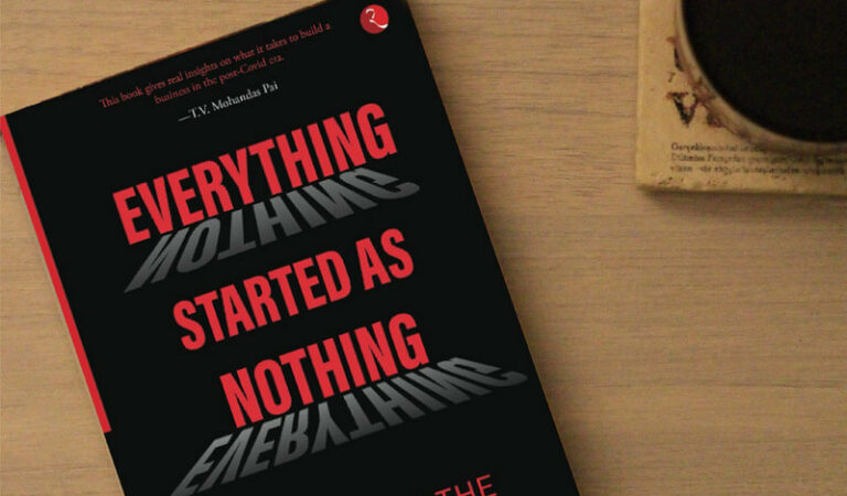 Book review of Everything Started As Nothing by Bhaskar Majumdar
