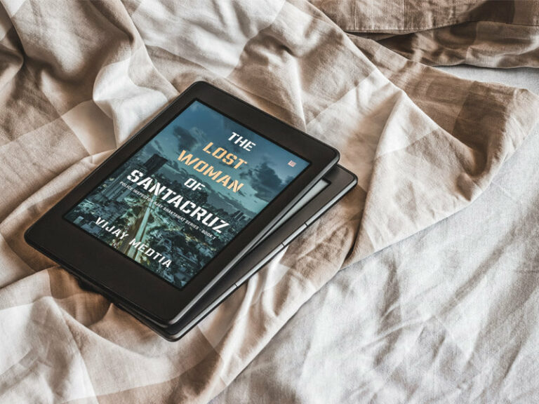 Book review of The Lost Woman of Santacruz by Vijay Medtia