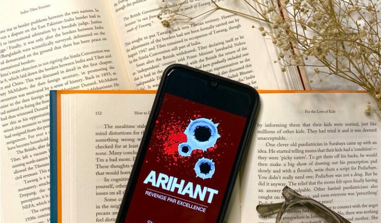 Book review of Arihant: Revenge Par Excellence by Shubhan Balvally