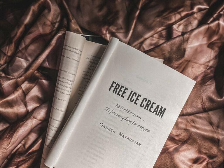 Book review of Free Ice Cream by Ganesh Natarajan