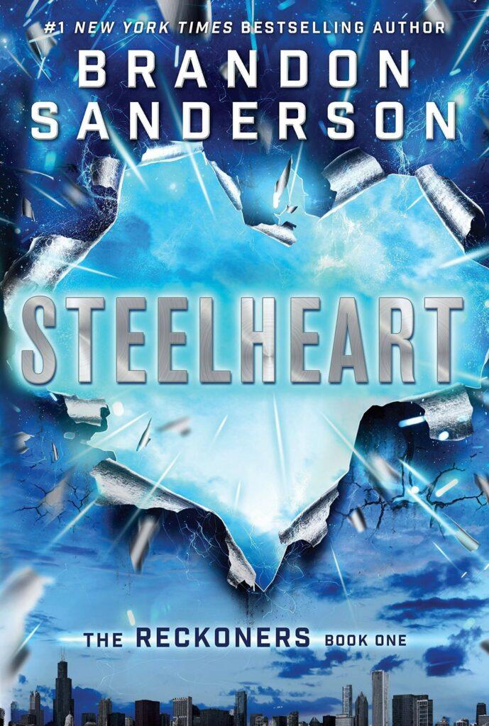 5 Superhero novels everyone should read. Steelheart by Brandon Sanderson