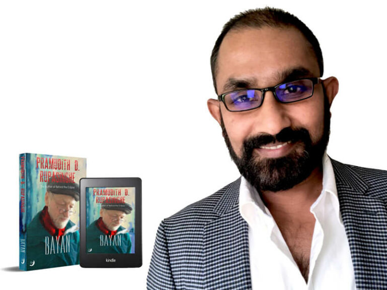 Spotlighting Pramudith Rupasinghe- Golden Aster Award Winning Sri Lankan Author